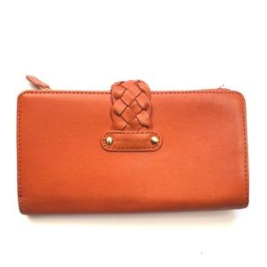Michael Kors Orange Wallet